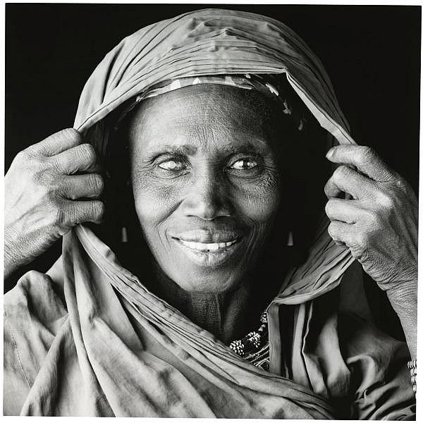 f,m - Jean-Baptiste Huynh , b. 1966 Mali - Portrait XXIV cibachrome print mounted on aluminium