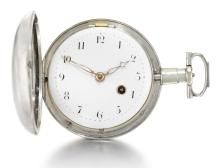 EDWARD TOMPION, LONDON | A SILVER HUNTING CASED KEYWOUND VERGE WATCH<br />1804, NO. 4716