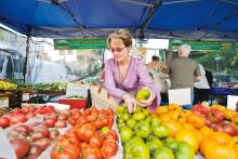 ALICE WATERS-LED TOUR OF A FARMERS MARKET AND SEASONAL LUNCH AT CHEZ PANISSE CAFE [2 GUESTS] |