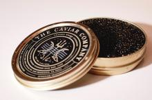 AT-HOME CAVIAR BAR AND GUIDED TASTINGS LED BY THE FOUNDERS OF THE CAVIAR COMPANY [20 GUESTS] |
