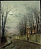 f - JOHN ATKINSON GRIMSHAW 1836-1893, Atkinson Grimshaw, Click for value