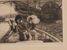 JAMES TISSOT, FRENCH (1836 - 1902) | Entre les Deux mon Coeur Balance (Wentworth 30)