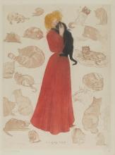 HENRY DETOUCHE, FRENCH (1854-1913) | A La Gloire du Chat