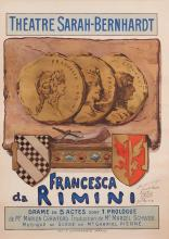 GEORGES CLAIRIN, FRENCH (1843-1919) | Theatre Sarah-Bernhardt/Francesca de Rimini