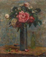 LUDOVIC VALLÉE, FRENCH (1864-1939) | Nature morte aux fleurs