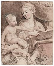 ATTRIBUTED TO ADRIAEN THOMASZ. KEY | The Virgin and Child