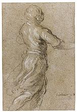 JACOPO PALMA, CALLED PALMA IL GIOVANE | A standing figure, hisright arm outstretched