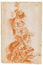 LOMBARD SCHOOL, EARLY 17TH CENTURY | Three Angels with Instruments of the Passion