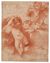 GIOVANNI FRANCESCO BARBIERI, CALLED IL GUERCINO | Three putti