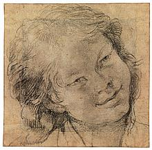 BOLOGNESE SCHOOL, EARLY 17TH CENTURY | Head of a youngboy