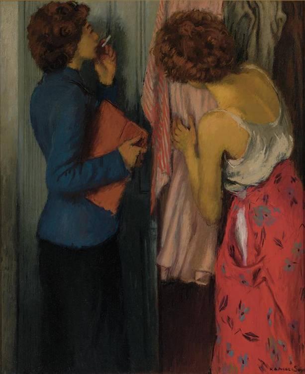RAPHAEL SOYER 1889-1987