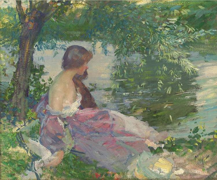 RICHARD EDWARD MILLER 1875-1943