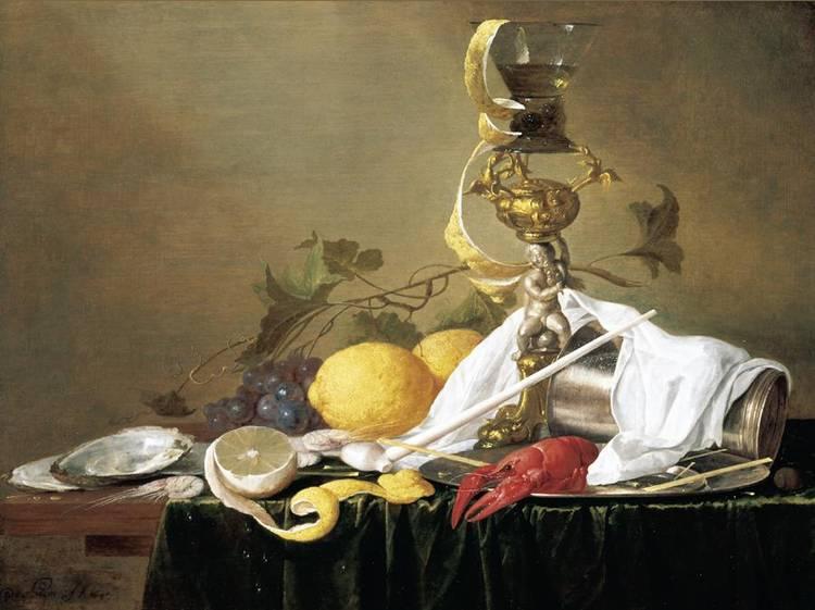 f - JAN DAVIDSZ.  DE HEEM UTRECHT 1606 - 1683/4 ANTWERP