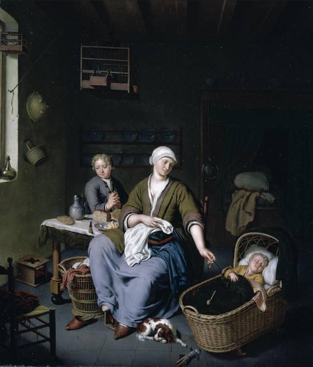f - WILLEM VAN MIERIS LEIDEN 1662 - 1747