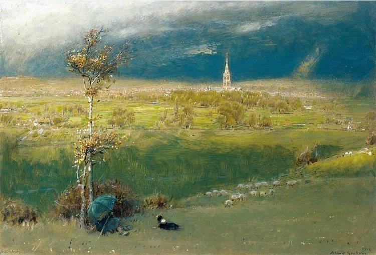 ALBERT GOODWIN R.W.S. 1845-1932