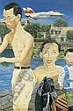 Liu Wei B. 1965 oil on canvas, Wei Liu, Click for value