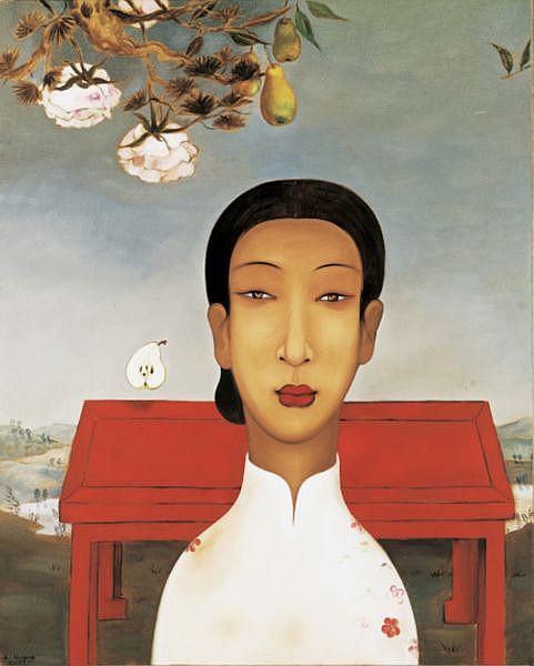 Li Shuang B. 1957 , Untitled oil on canvas