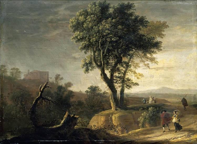 f - HERMAN VAN SWANEVELT WOERDEN (?) CIRCA 1600 - 1655 PARIS