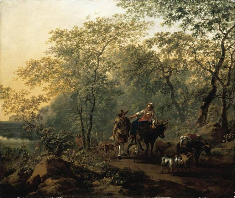 NICOLAES PIETERSZ. BERCHEM HAARLEM 1620 - 1683 AMSTERDAM