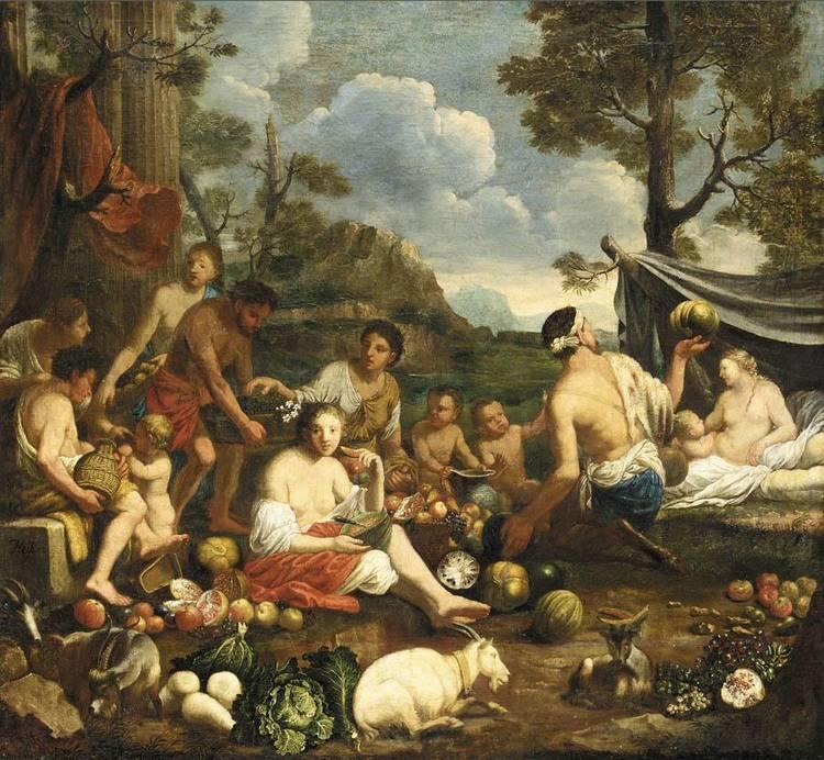 JOHANN HEISS MEMMINGEN 1640 - 1704 AUGSBURG