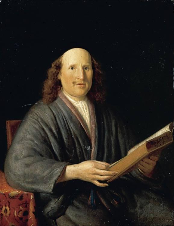 f - PIETER CORNELISZ. VAN SLINGELAND LEIDEN 1640 - 1691