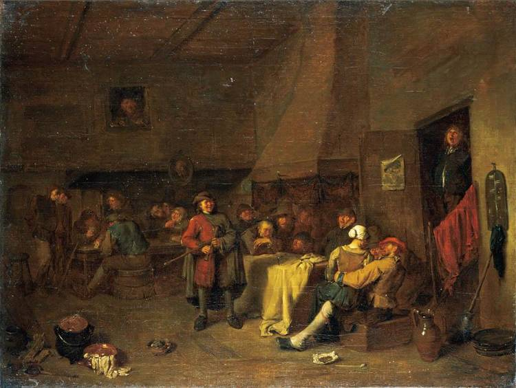 f - EGBERT JASPERSZ. VAN HEEMSKERCK I HAARLEM 1632/5 - 1704 LONDON