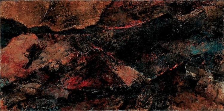 f - AKBAR PADAMSEE, B. 1928