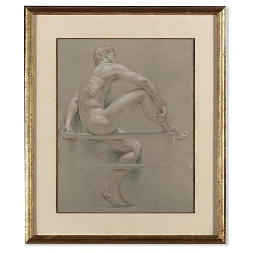Paul Cadmus , Male nude (Jon Anderson)
