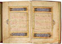 AN ILLUMINATED QUR'AN JUZ'(XXV), TURKEY, OTTOMAN, EARLY 15TH CENTURY |