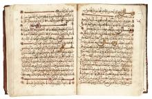 IBRAHIM IBN MUHAMMAD IBN 'ABD AL-MALIK AL-KHAWLANI AL-SHARITHI, AN ANTHOLOGY OF POETRY, SPAIN OR NORTH AFRICA, DATED 889 AH/1484 AD |