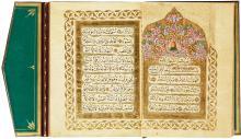 AN ILLUMINATED BOOK OF PRAYERS, TURKEY, OTTOMAN, 19TH CENTURY |