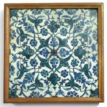 A DAMASCUS POTTERY TILE, SYRIA, LATE 16TH/EARLY 17TH CENTURY |