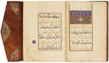 A LARGE ILLUMINATED QUR'AN JUZ' (XXII), PERSIA OR TURKEY, SAFAVID OR OTTOMAN, CIRCA 1550-1600 |