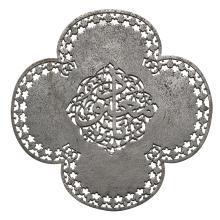 A SAFAVID CUT-STEEL CALLIGRAPHIC QUATREFOIL PLAQUE, PERSIA, 17TH/18TH CENTURY |