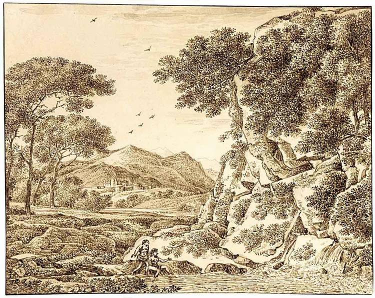 FRANZ INNOCENZ JOSEF KOBELL MANNHEIN 1749 - 1822 MUNICH