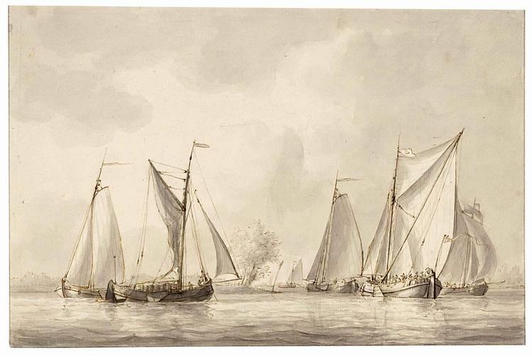 GERRIT GROENEWEGEN ROTTERDAM 1754 - 1826