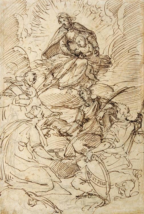 f - GIOVANNI BATTISTA PAGGI GENOA 1554 - 1627 (?)