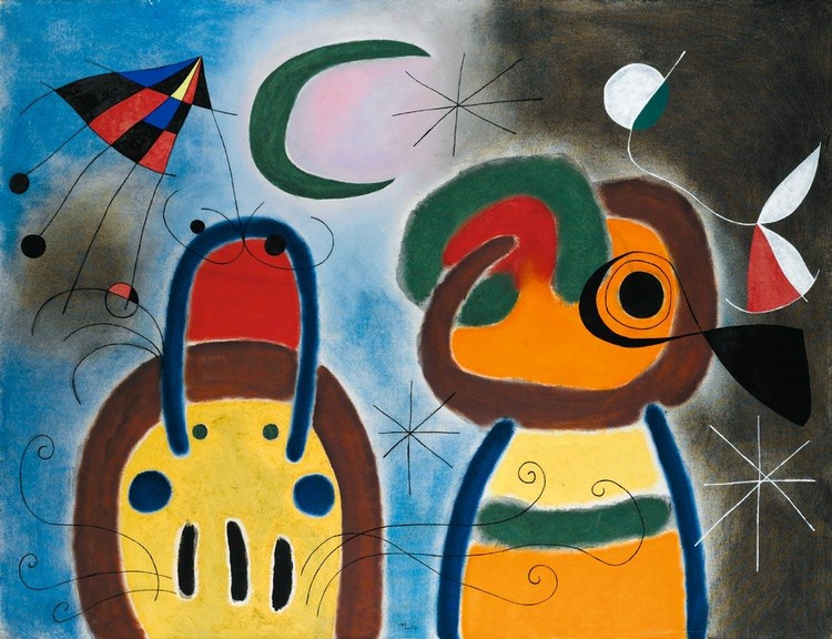 Joan Miro Works on Sale at Auction & Biography