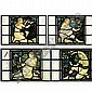 - Henry Holiday (1839 - 1927), attributed to , A pair of panels, Henry Holiday, Click for value