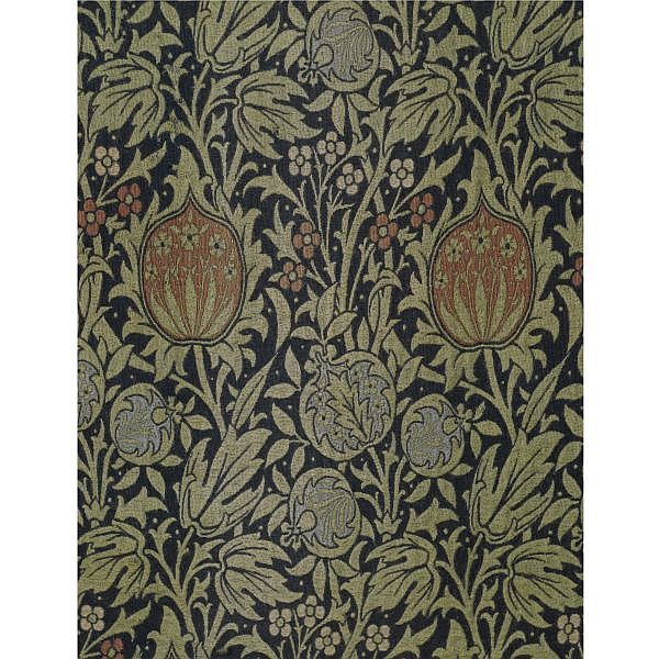 - John Henry Dearle (1860 - 1932) for Morris & Co. , A pair of 'Elmcote' curtain panels