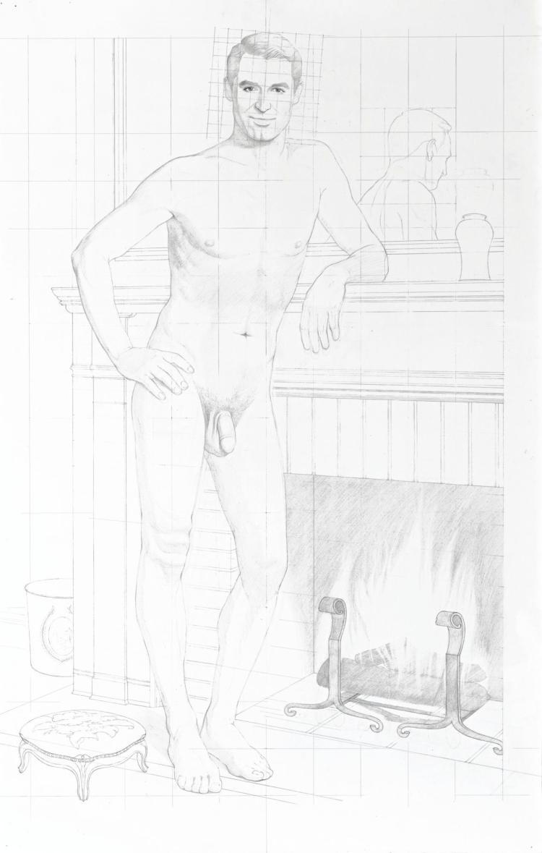 KURT KAUPER | Study for Cary Grant