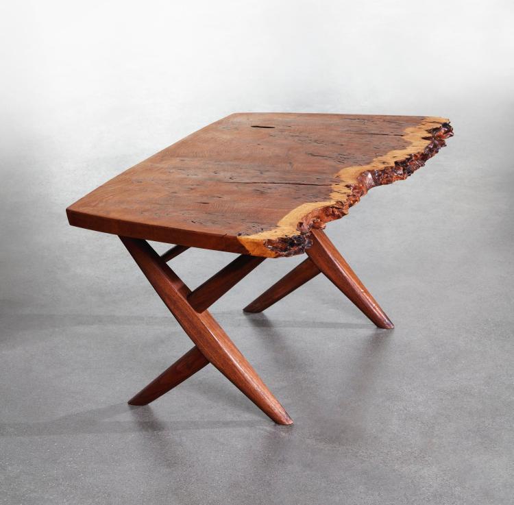 GEORGE NAKASHIMA | A Rare Cross-Legged Coffee Table