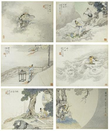 CHINESE PAINTING FROM THE WATER PINE AND STONE RETREAT COLLECTION (PART IV) QIAN HUI'AN 1833-1910