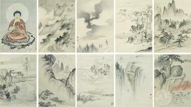CHEN SHAOMEI 1907-1954 VARIOUS ASPECTS OF GUANYIN