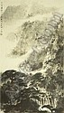 FU BAOSHI 1904-1965 CASCADING WATERFALLS, Fu Baoshi, Click for value