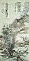 CHINESE PAINTING FROM THE ER ZHI XUAN COLLECTION FENG CHAORAN 1882-1954 LANDSCAPE IN THE STYLE OF, Chaoran Feng, Click for value