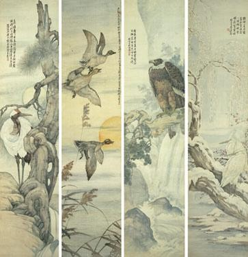CHINESE PAINTING FROM THE ER ZHI XUAN COLLECTION LIU KUILING 1885-1968 BIRDS