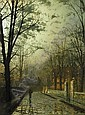 JOHN ATKINSON GRIMSHAW 1836-1893, Atkinson Grimshaw, Click for value
