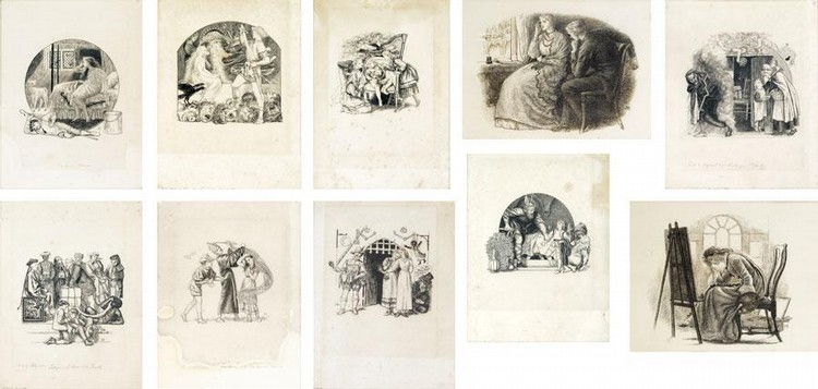 ARTHUR HUGHES 1832-1915