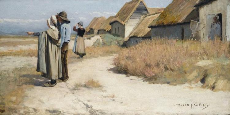 LOUIS WELDEN HAWKINS 1849-1910